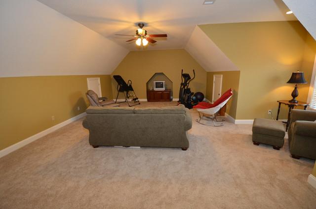 Family Room/Bonus Room craftsman-family-room