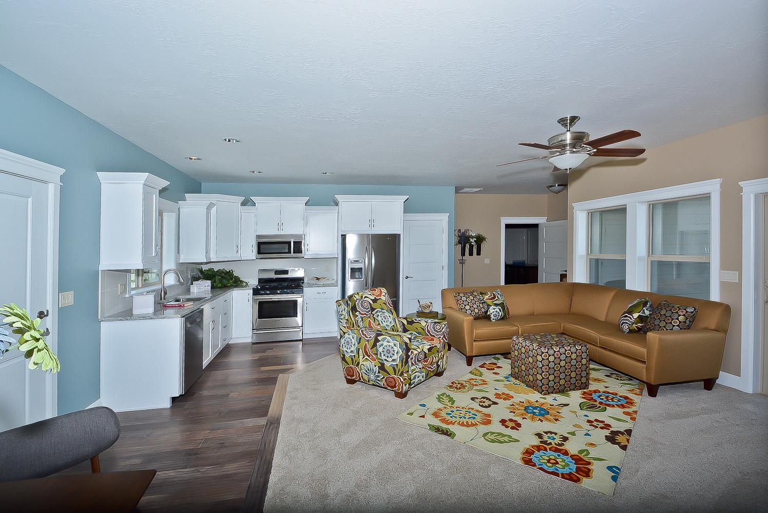 Family Room Design by Cotner Building