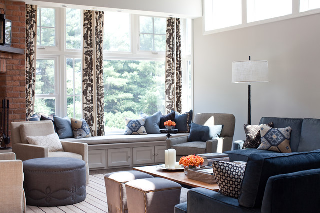 Family room transitional-family-room