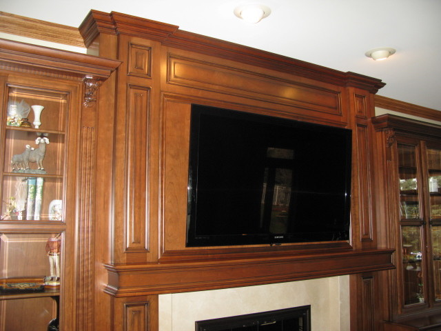 Family Room Entertainment Center traditional family room