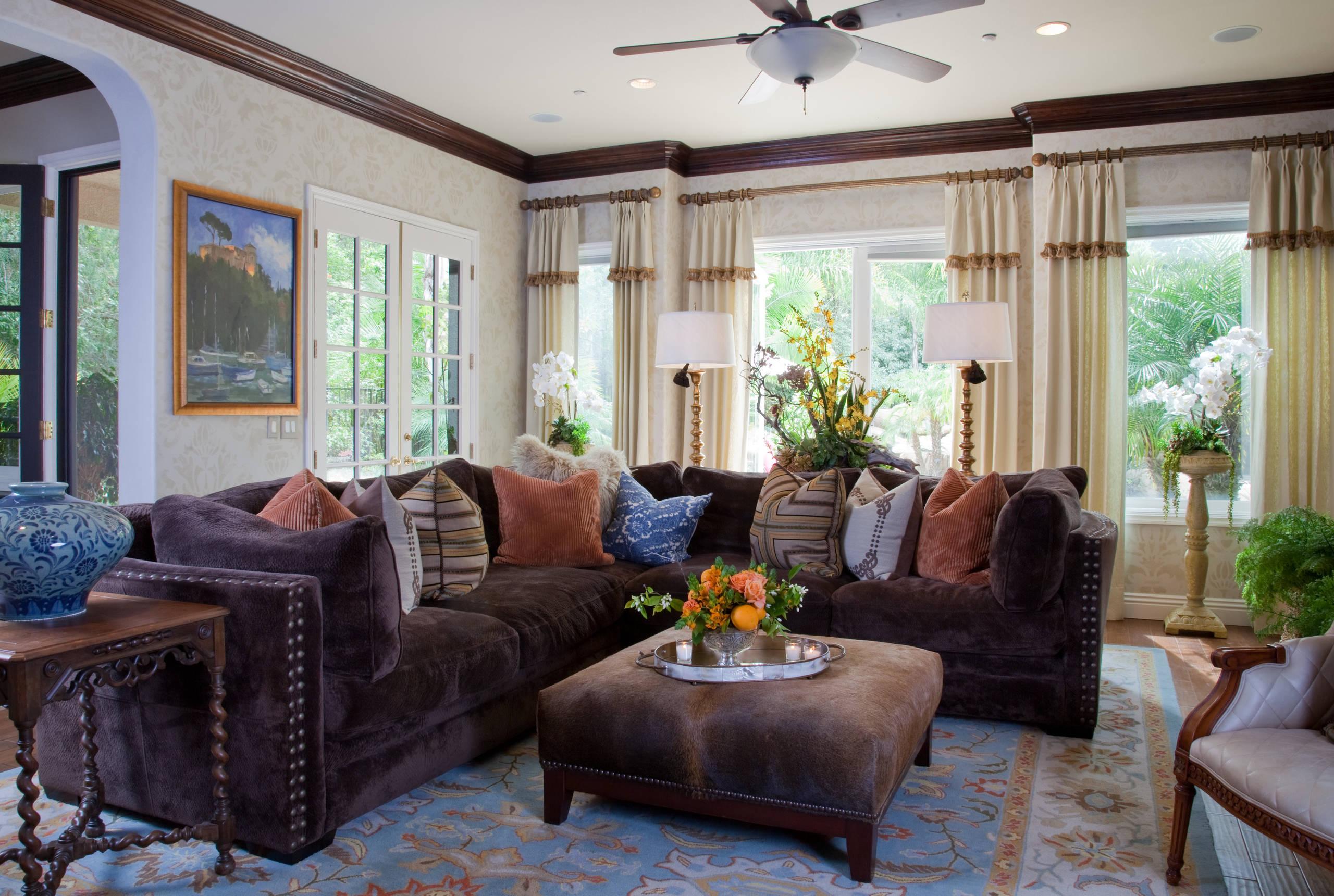 Family Room for Vicki Gunvalson of the RHOC