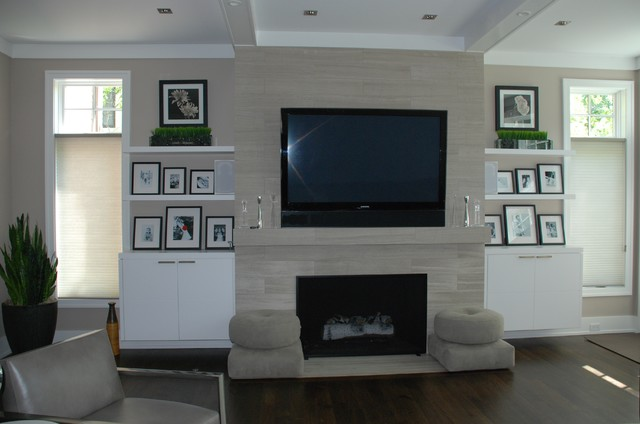 modern family room by Letitia Holloway