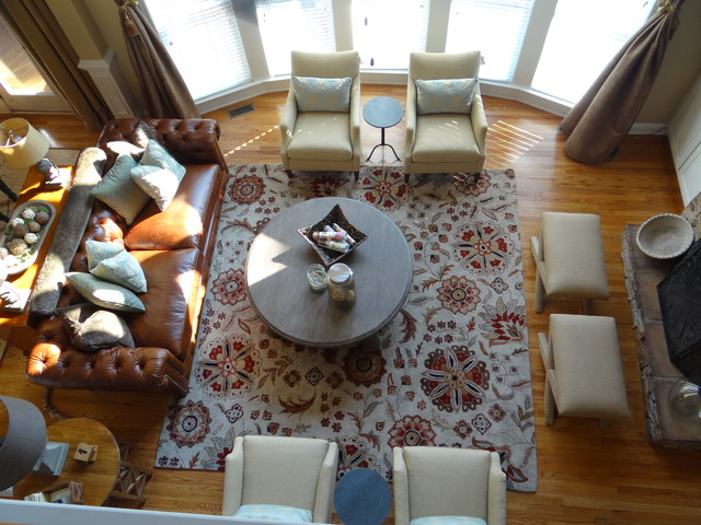 Family Room In Need...Now A Family Room Indeed! traditional-family-room