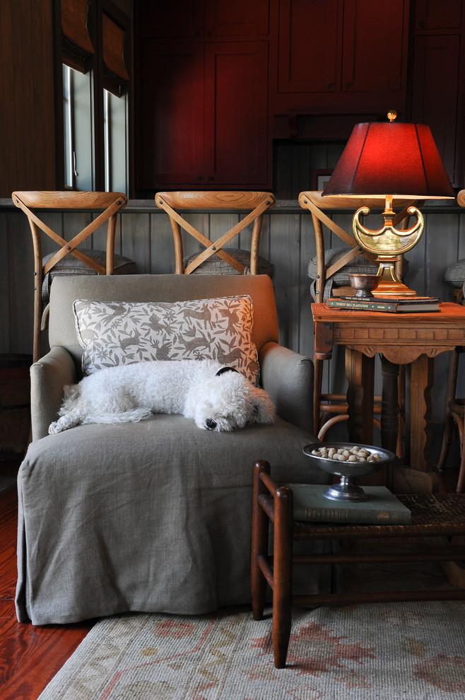 Family room - eclectic family room idea in Atlanta