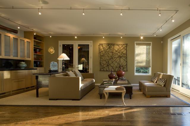 Family Room contemporary-family-room