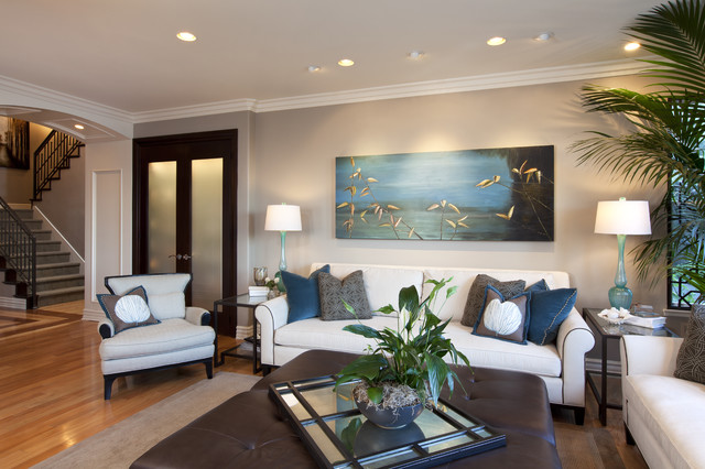 Family Room Modern Family Room San Diego By