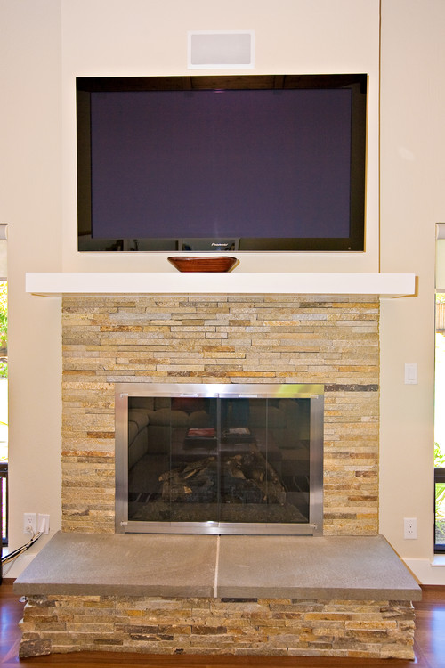 Two questionsWhere to get fireplace facing DoorsWhat material