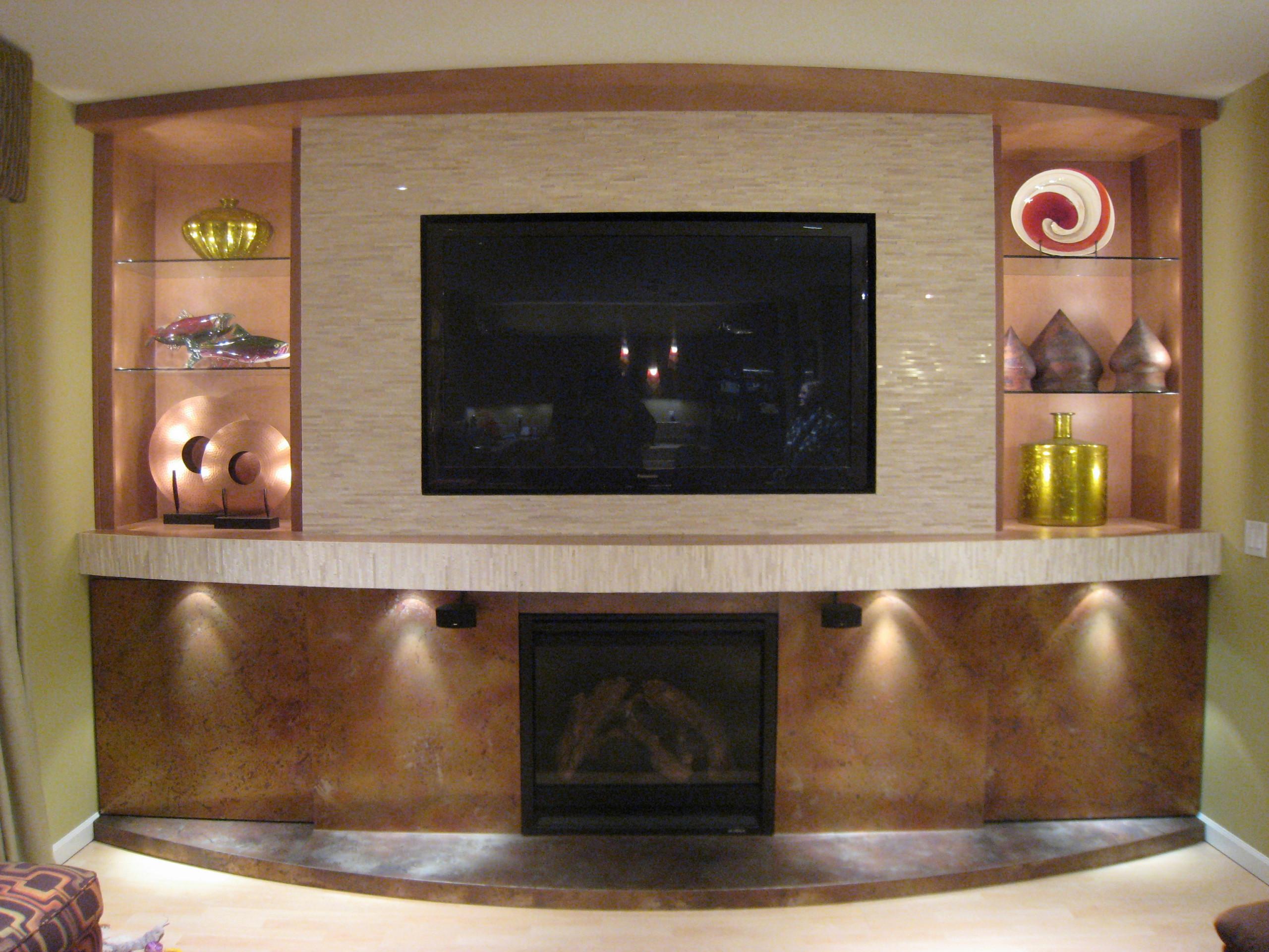 Fireplace Tv Wall Houzz