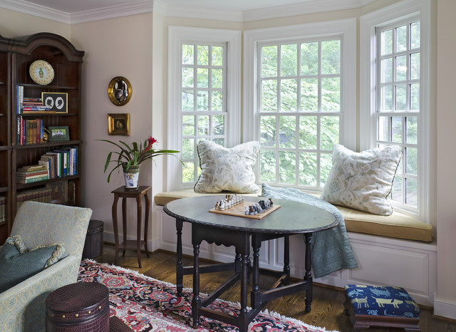 Bon Victorian Family Room By Kathy Corbet Interiors