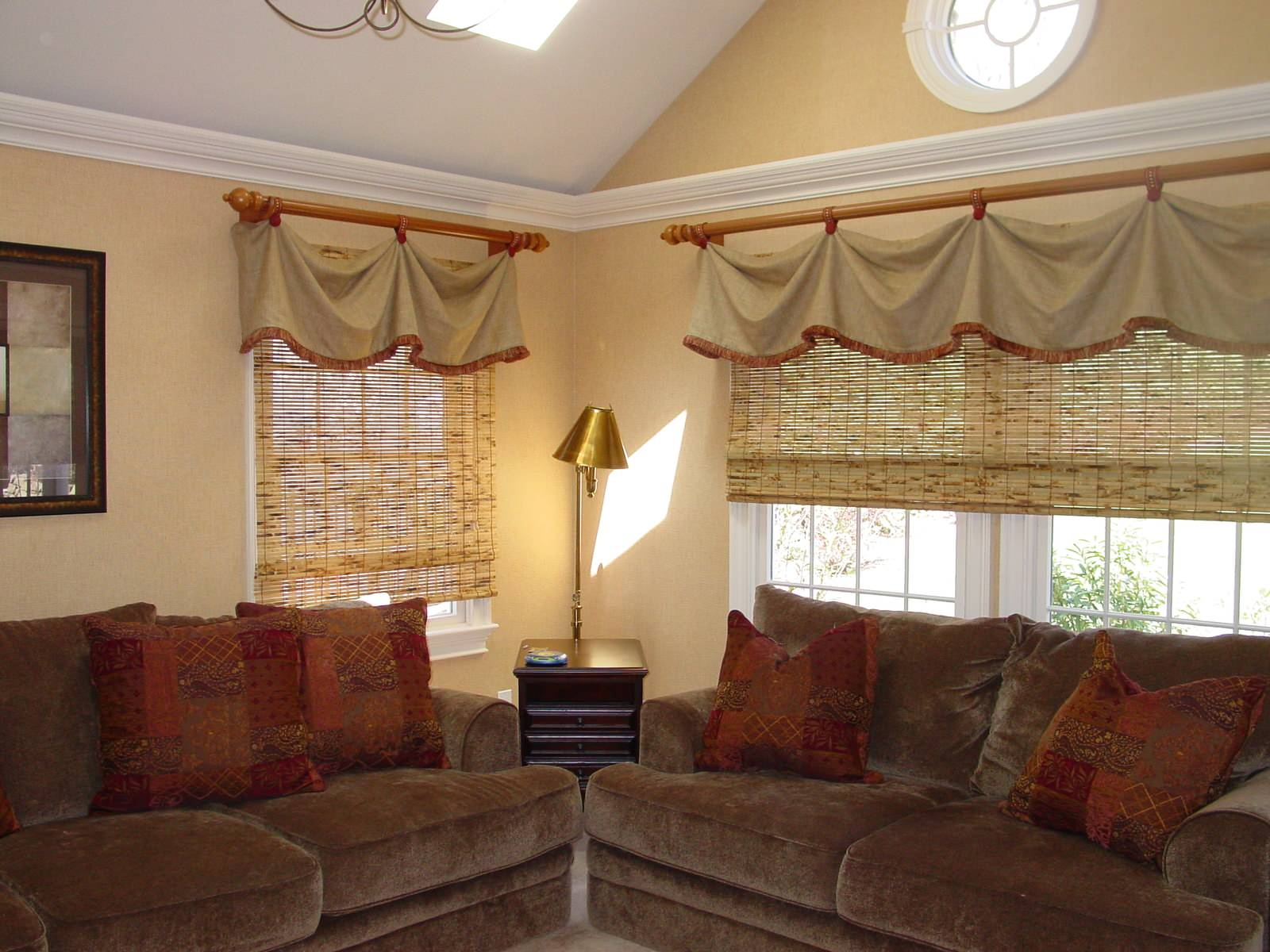 Small Family Room Window Treatments Houzz