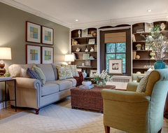 Farmhouse Charmer - Living Room transitional-family-room