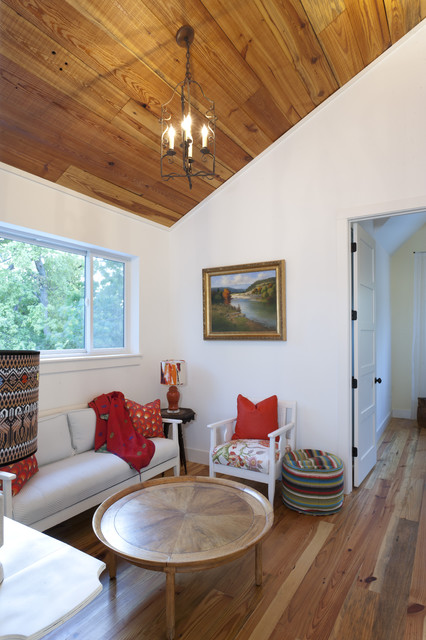Farmhouse Landing Nook Farmhouse Family Room