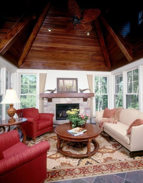Ferndale Road Residence Sunroom 2 traditional-family-room