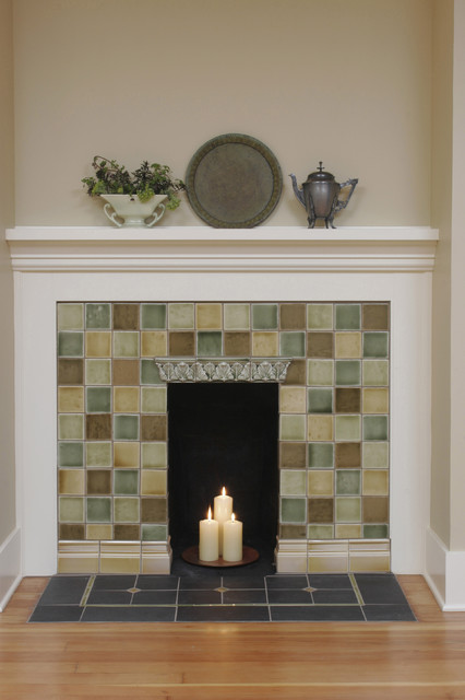 Fireplace Ideas Traditional Family Room Portland