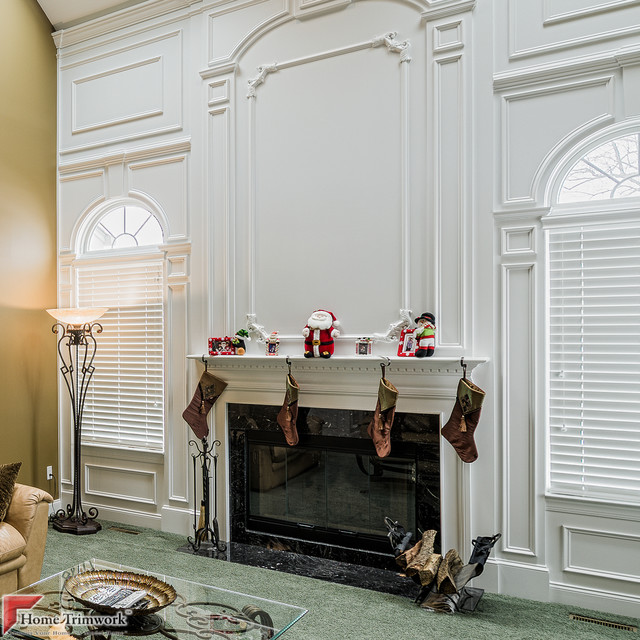 Fireplace Mantels family-room