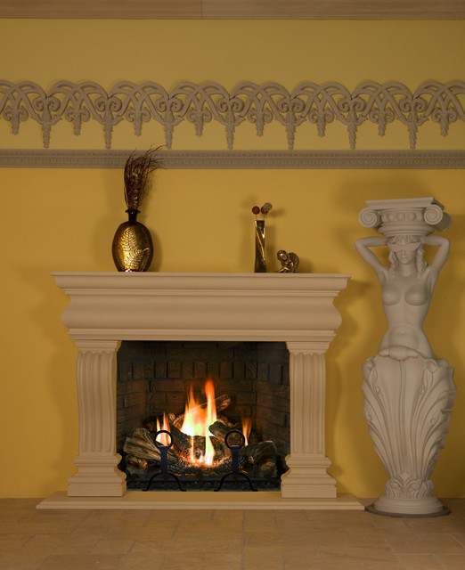 Fireplace mantels fireplaces