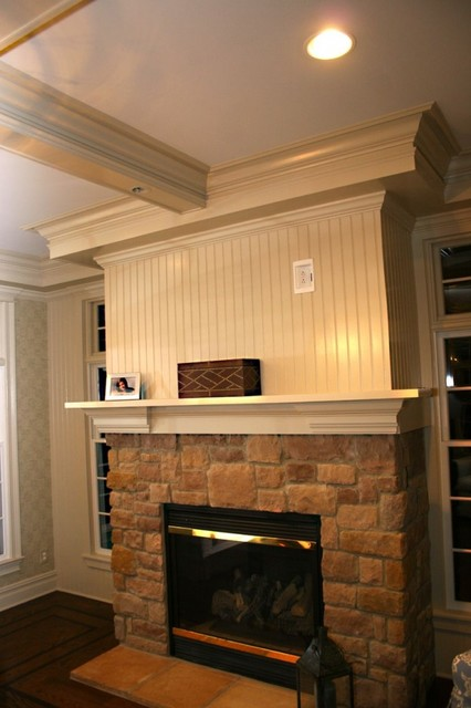 Fireplace Mantels - Traditional - Family Room - other ...