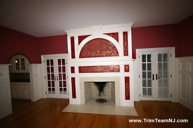 Fireplace Mantles family-room
