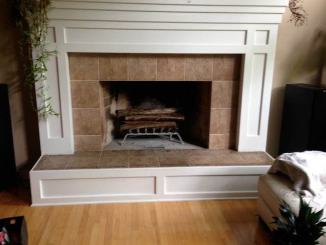 Fireplace Contemporary Family Room