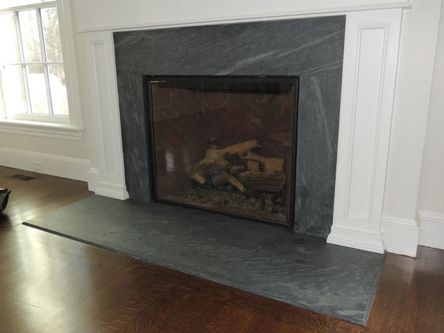 Fireplaces Traditional Family Room Boston By 3sm