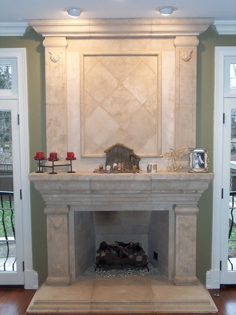 Fireplaces family-room