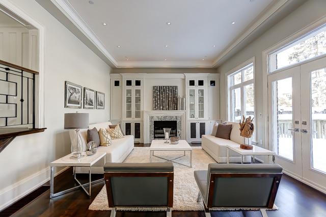 Florence Avenue contemporary-family-room