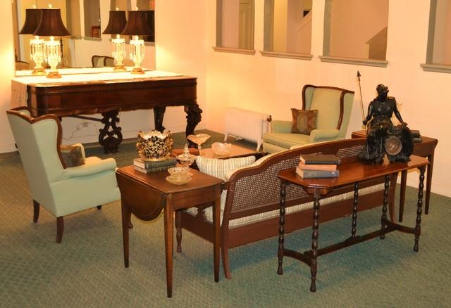 flori de leon traditional family room tampa by van