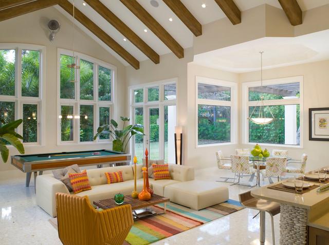 Florida Vernacular Key West Style Home Contemporary