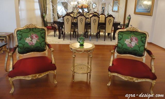 Florya Ev Dekorasyonu traditional-family-room