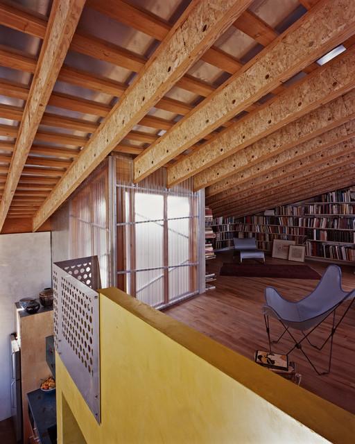 Folger Loft 1 industrial-family-room