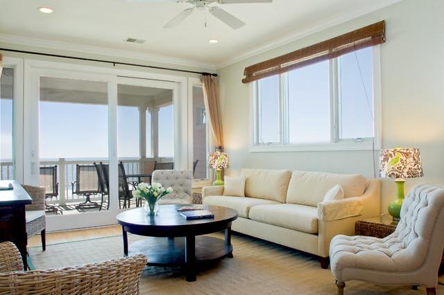 Folly Beach Penthouse Condo - Vacation Rental traditional-family-room