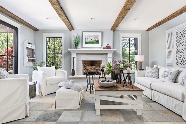 Formal living room - Maritim - Wohnzimmer - Detroit - von ...