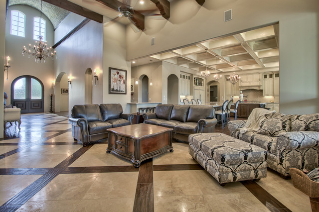 French country estate in the pecans queen creek az for Living room queen creek