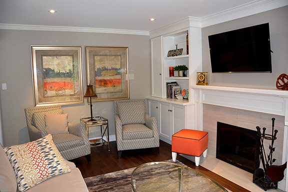 Fresh functional family room transitional family for Functional family room ideas