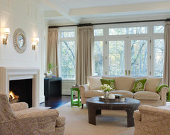 Fresh Modern Colonial contemporary-family-room