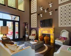 Frisco European contemporary-family-room