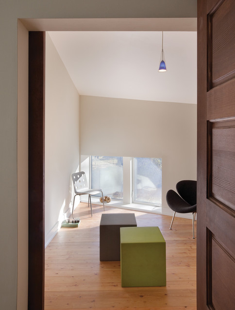 From The Ground Up Modern Family Room New York By