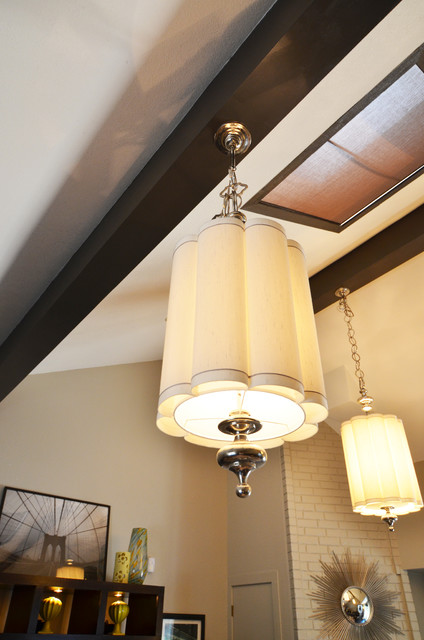 Fun Chandeliers contemporary-family-room
