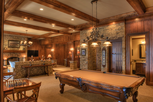 Gabriel Builders - Rustic - Family Room - Other - by ...