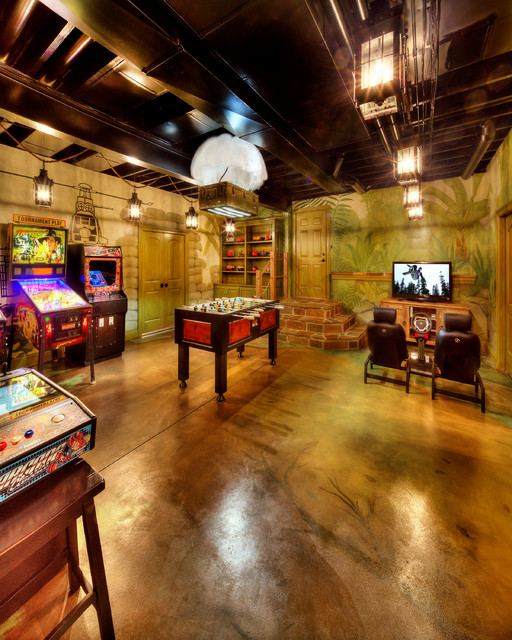 Game room basement Basement game room ideas