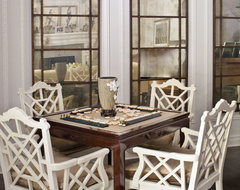 Game table traditional family room