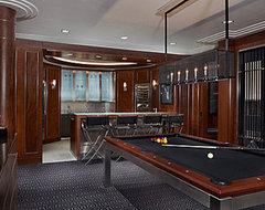 Gamerooms modern-family-room