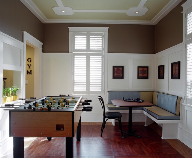 Games Room traditional family room