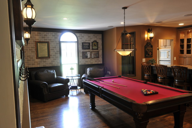 Garage Conversion Traditional Family Amp Games Room