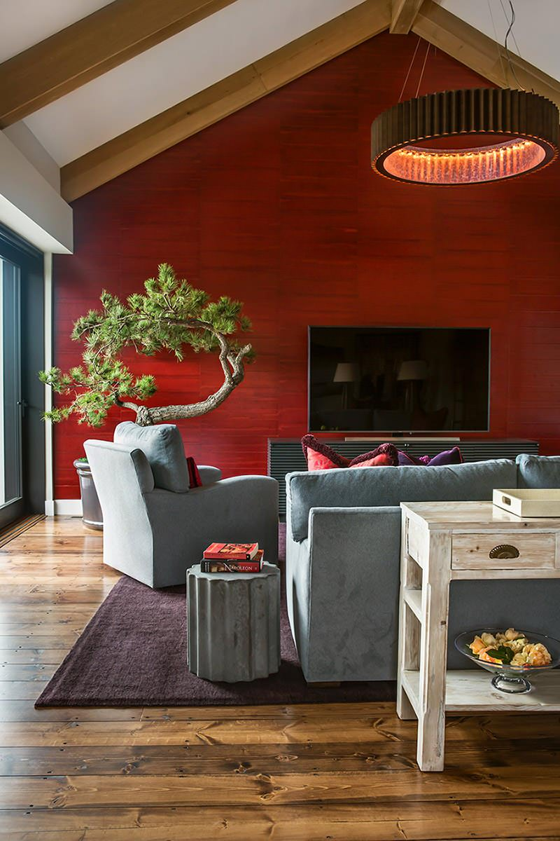 Garage Conversion into Casual, Luxurious Family Room in Calistoga
