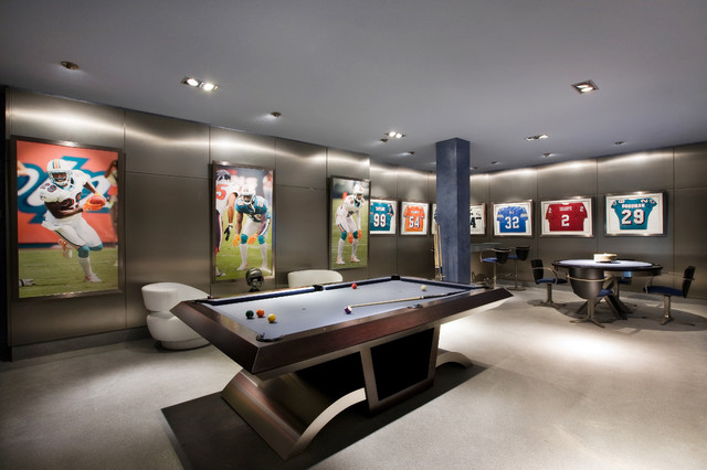 Garage Remodel Contemporary Family Room Miami By Premier Garage Delectable Miami Contemporary Furniture Remodelling
