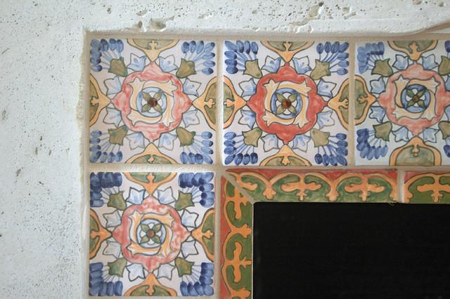 Garret Home Remodel with Spanish Ceramic Tile mediterranean-family-room