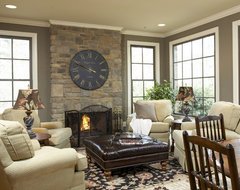 Gathering Place traditional family room