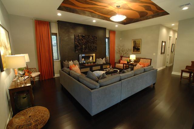 Gem on Magnolia contemporary-family-room