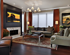 George Street Family Room contemporary family room